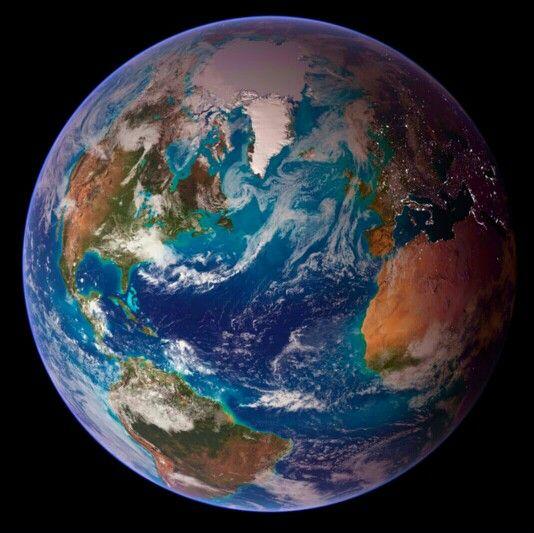 우주에서 바라본 지구 Beautiful.