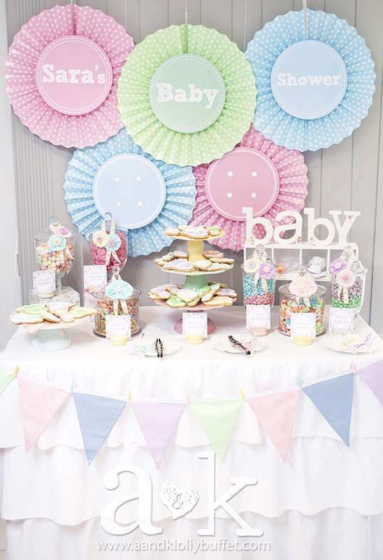 Cute as a Button Baby Shower Party Ideas | Photo 9 of 12