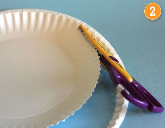 diy paper plate baskets