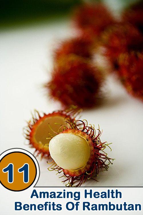 Rambutan Health Benefits : Rambutan fruits have rich amounts of proteins, carbohydrates, fats, iron, phosphorus, calcium and Vitamin C.