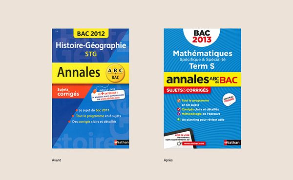 Annales Bac Nathan on Behance