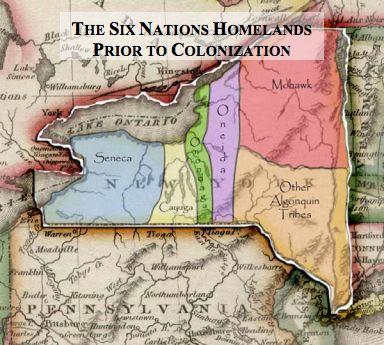Iroquois Confederacy homelands