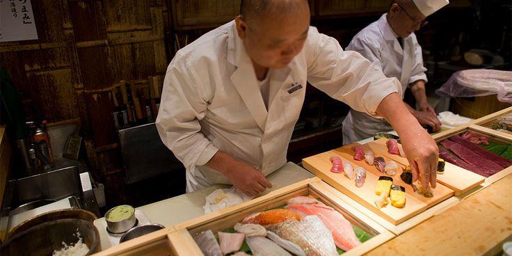 The Ten Commandments of Sushi