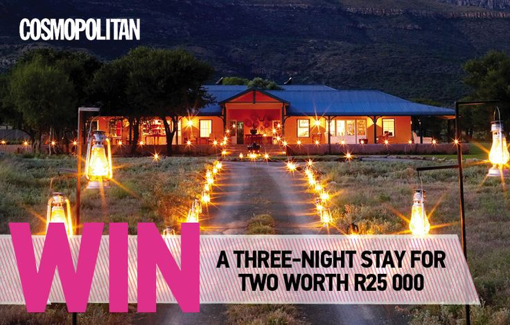 WIN a Three-Night Stay for Two at Samara Private Game Reserve, Worth R25 000