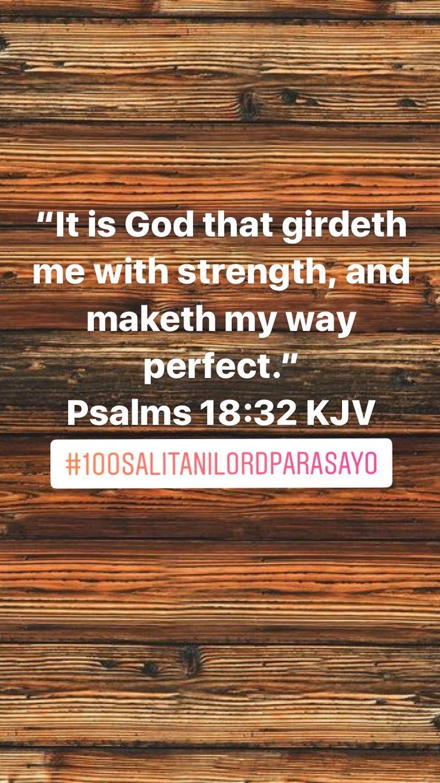 Psalms 18:32 (KJV)
