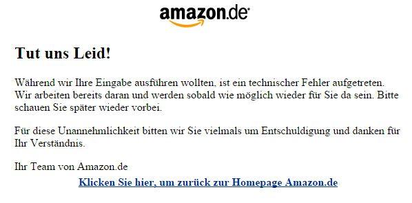 Technische Probleme am Amazon Prime Day - http://www.onlinemarktplatz.de/59777/technische-probleme-am-amazon-prime-day/