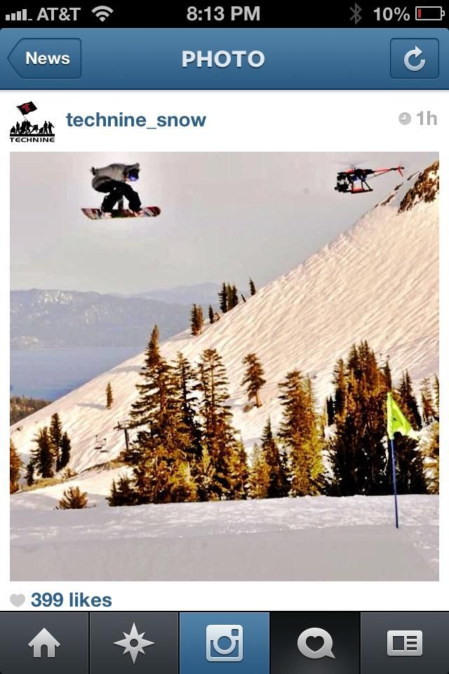 #JustinWoodcock and the #RaptorCam guys out at #SquawValley #Filming for #Technine #Snowboards in #laketahoe with their #RCheli and #fs700