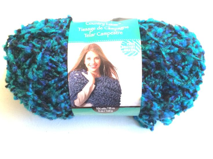 Loops & Threads Country Loom Yarn One Skein  Kiss Me #Michaels #bulky