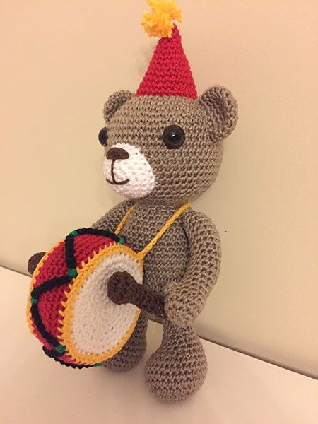 Amigurumi Patterns Contest : Charlie Amigurumi Circus design contest entry by ...
