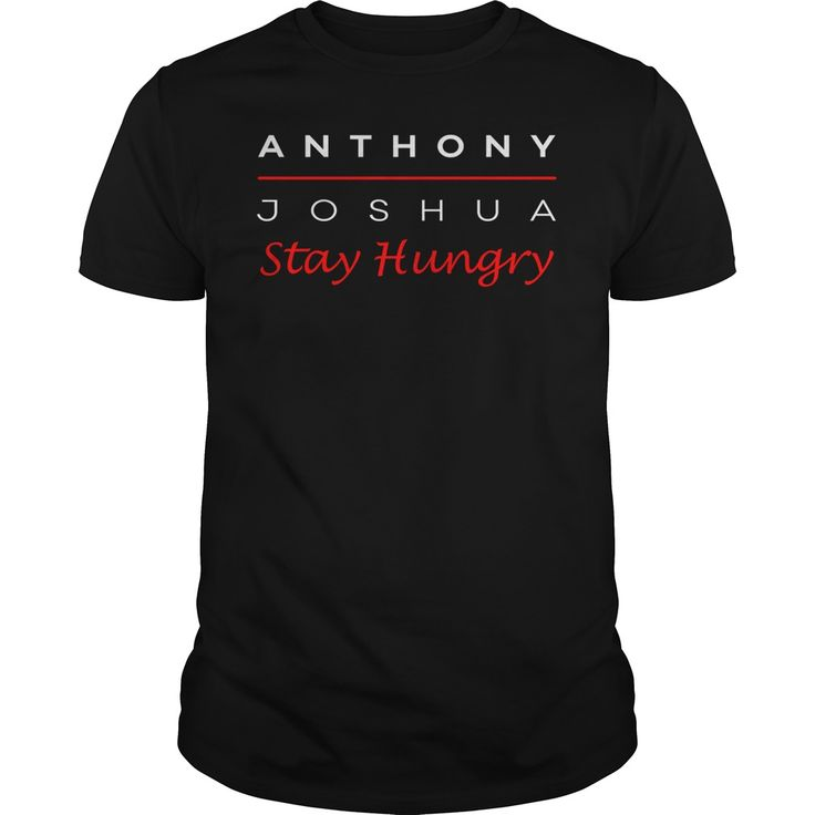 Anthony Joshua Boxing Stay Hungry