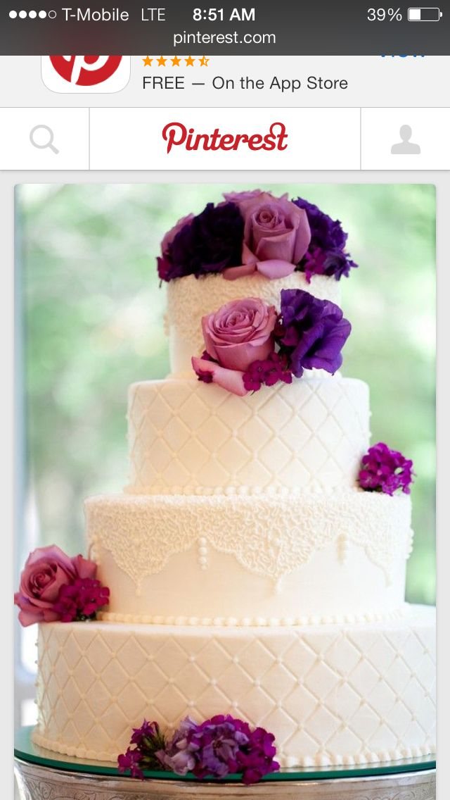 stunning purple wedding cake designs perfect wedding day - 640×959