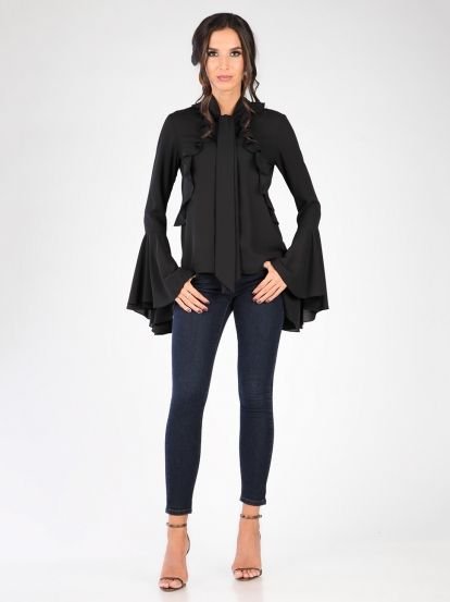 Ženska Bluza CARLA BY ROZARANCIO #fashion #trend #frills #ruffles #blouse #stylish #women_fashion