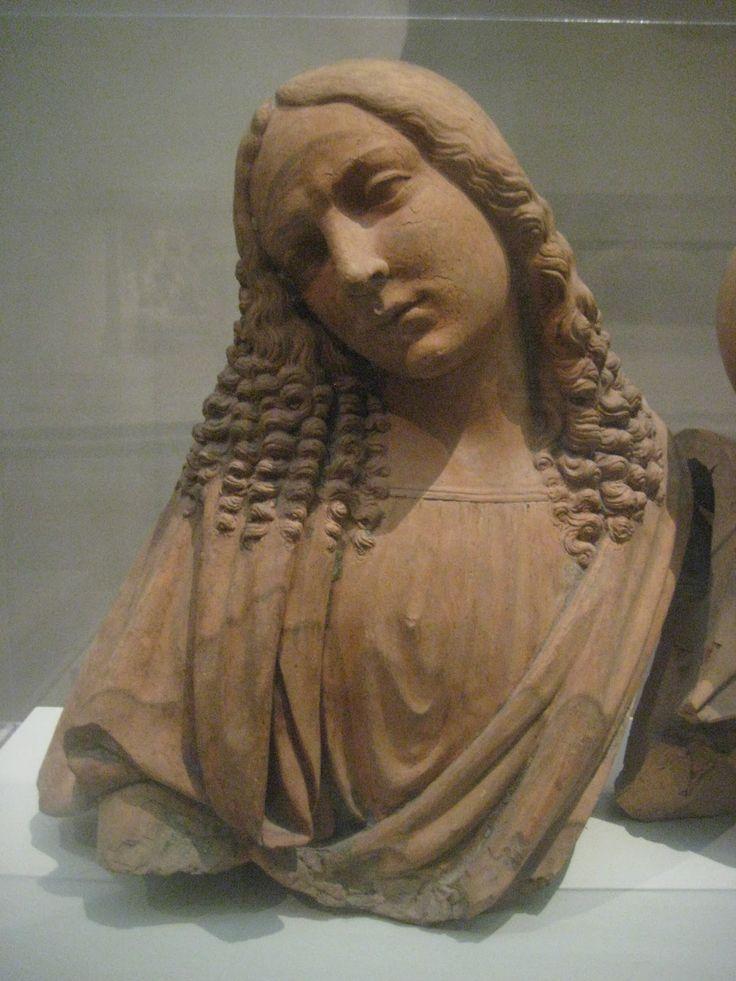 Magdalena terracota c.1500 Lombardia o Emilia Romagna