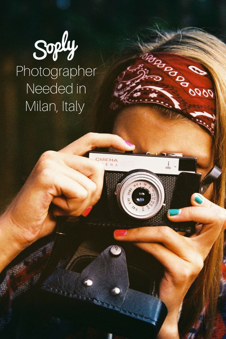 #Photographer needed for a #fashion #photo shoot in #Milan, #Italy. The #photos will be of a #client and her #partner and will be #Instagram- #style photos. See the #photography job and apply by clicking the pin!