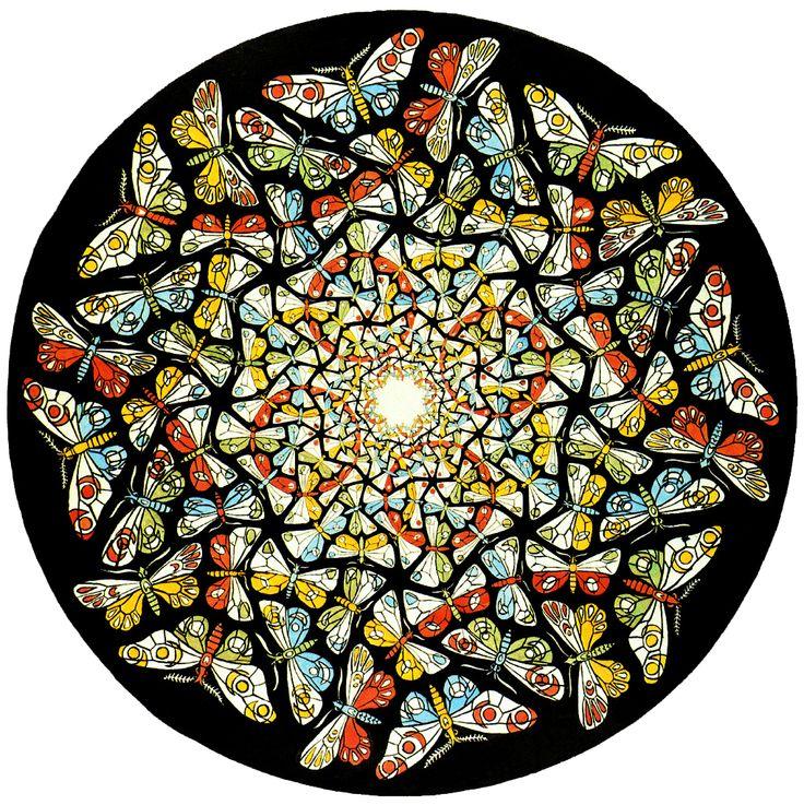 M.C. Escher: Butterflies