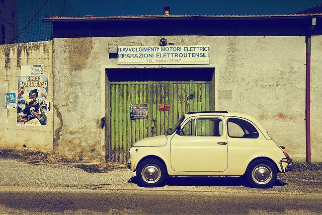Vintage Fiat 500 by Bianconero Photo LRPS, via Flickr