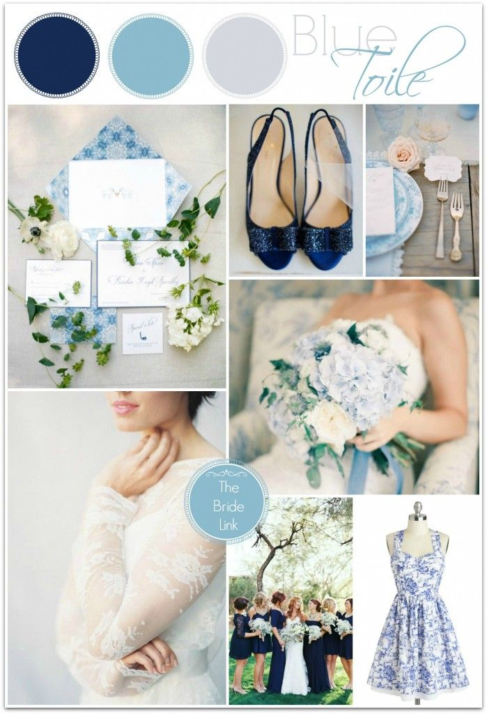Powder Blue and Navy Wedding Inspiration