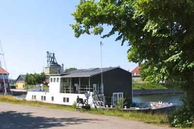 Houseboat in Christianshavn, Denmark