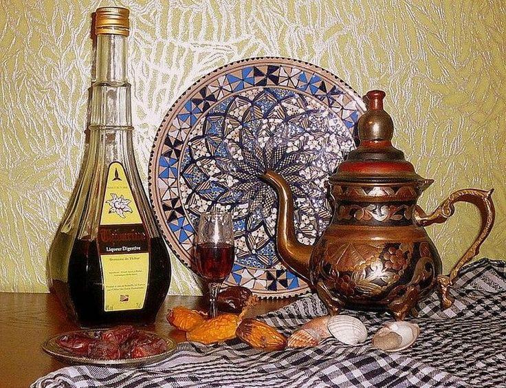 Финиковый ликер – отличное дополнение к восточному чаепитию