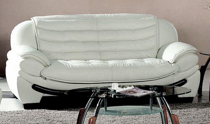 Canapé BELLO 3 places ou 2 places en cuir haut de gamme italien vachette Vénésetti