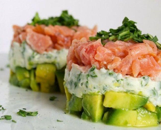 Finte tartare di salmone   Food Loft - Il sito web ufficiale di Simone Rugiati