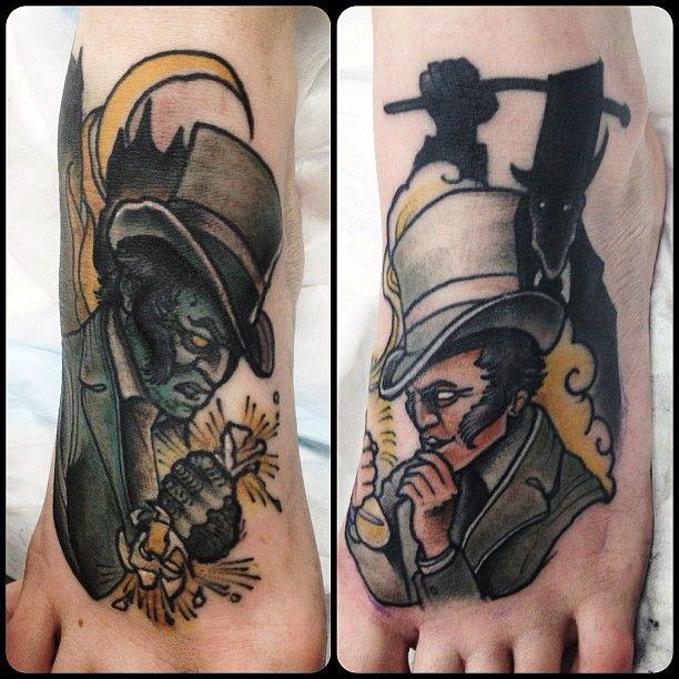 Hyde Feet  Feet Tattoo...