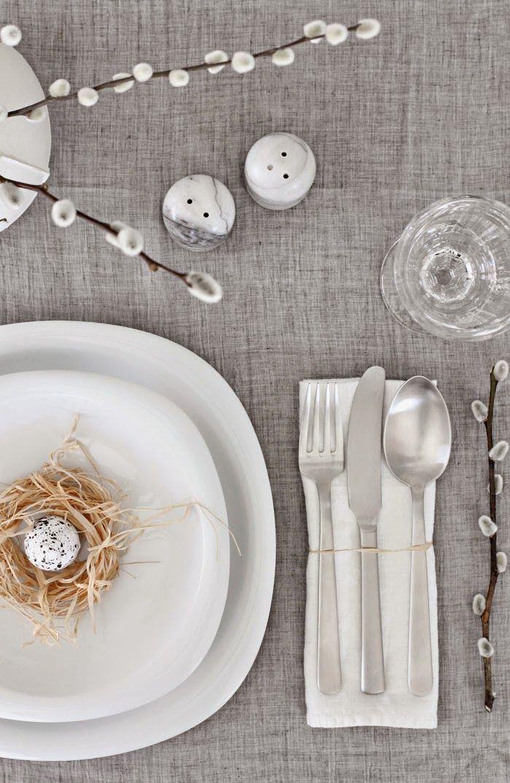 15 идей декора пасхального стола | Sweet home