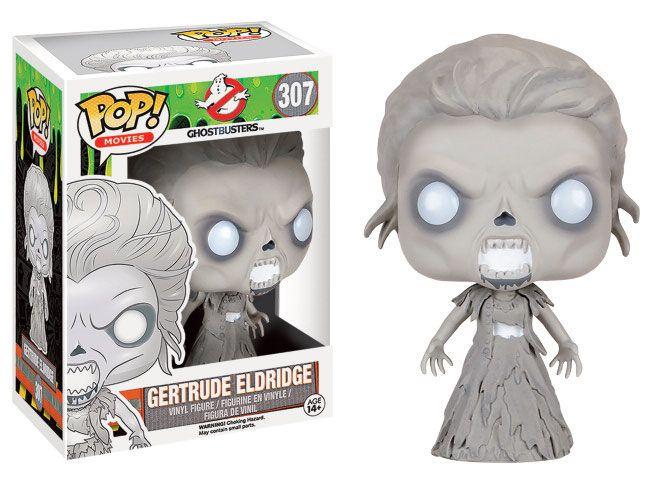 Ghostbusters 2016 POP! Movies Vinyl Figur Gertrude Eldridge 9 cm