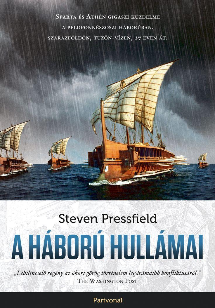 Steven Pressfield: A háború hullámai Alkibiadész és az ókori Athén sorsa elválaszthatatlanul összefonódott. A karizmatikus hadvezér akarata és nagyravágyása meghatározta a 27 évig tartó peloponnészoszi háború menetét, amely Spárta és Athén, valamint szövetségeseik között zajlott.  Ebben a lenyűgöző történelmi regényben több ember nézőpontjából ismerhetjük meg a két állam hatalomért folytatott élet-halál harcát.