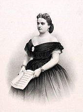 """Marie Constance Sasse [Sax, Saxe, Sass] (26 January 1834 – 8 November 1907) was a Belgian operatic soprano. """"Her voice was powerful, flexible, and appealing"""",[1] and she was one of the leading sopranos at the Paris Opéra from 1860 to 1870. She created the roles of Elisabeth in the Paris premiere of Wagner's Tannhäuser, Sélika in the world premiere of Meyerbeer's L'Africaine, and Elisabeth de Valois in the world premiere of Verdi's Don Carlos.[1]"""
