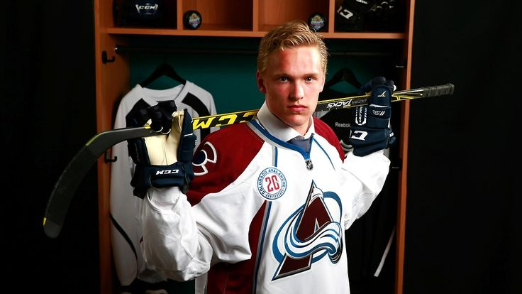 Mikko Rantanen, right wing, acquired by Avalanche in NHL draft.