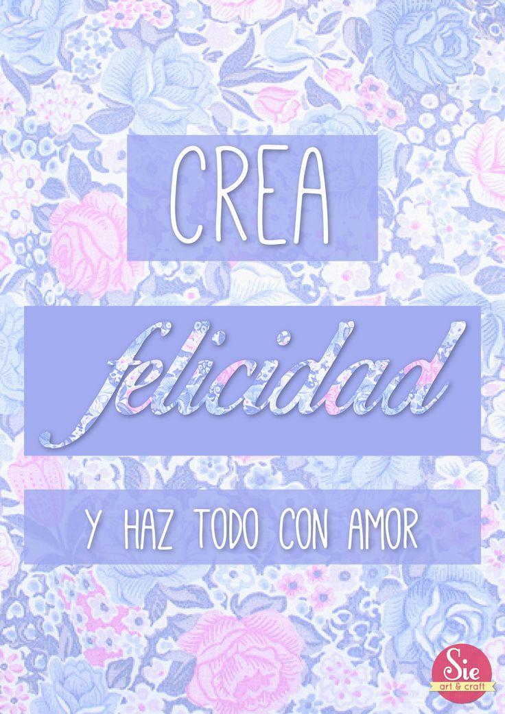 Sie - Art & Craft: Crear ♥