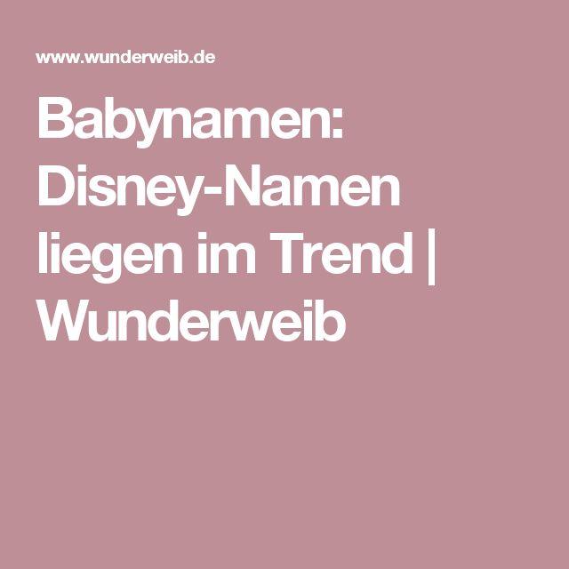 Weibliche Disney Namen