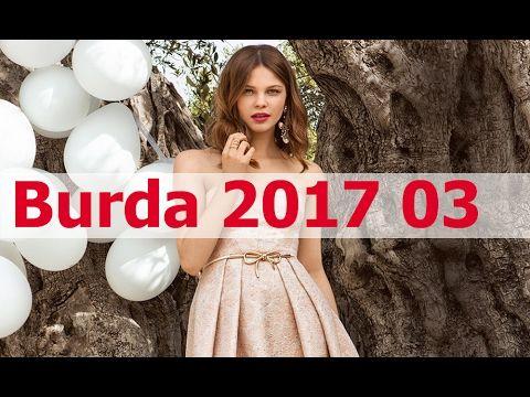 Burda 2017 03. Все модели в деталях + технические рисунки