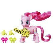My Little Pony Explore Equestria Kick Action Pinkie Pie Cheering Figure