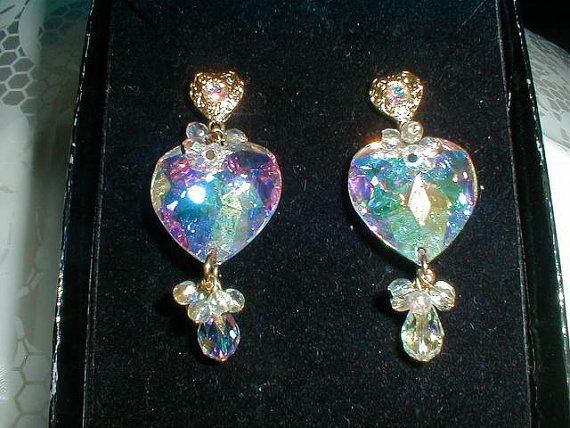 Vintage kirks folly aurora borealis by qualityvintagejewels 62 00