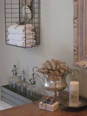 romantic-vintage bathroom