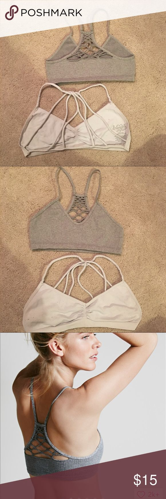 Bralette bundle (baby razorback) & other Sizes xs/s (it's a double size) they were both 20 each Free People Intimates & Sleepwear Bras