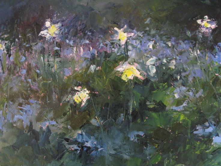 """Spring Arrives in Mount Usher"" 10 x 8 inches www.niamhslack.com"