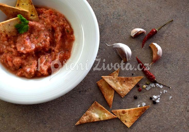 Recept na vynikající mexickou rajčatovou salsu