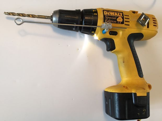 I purchased a DeWalt 12volt cordless drill with two 'dead' batteries from a guy on eBay for about $10 (£6).I intended to turn it into a corded drill as...