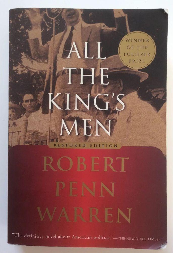 Allthekingsmen By Robert Penn Warren 2002 Paperback Books