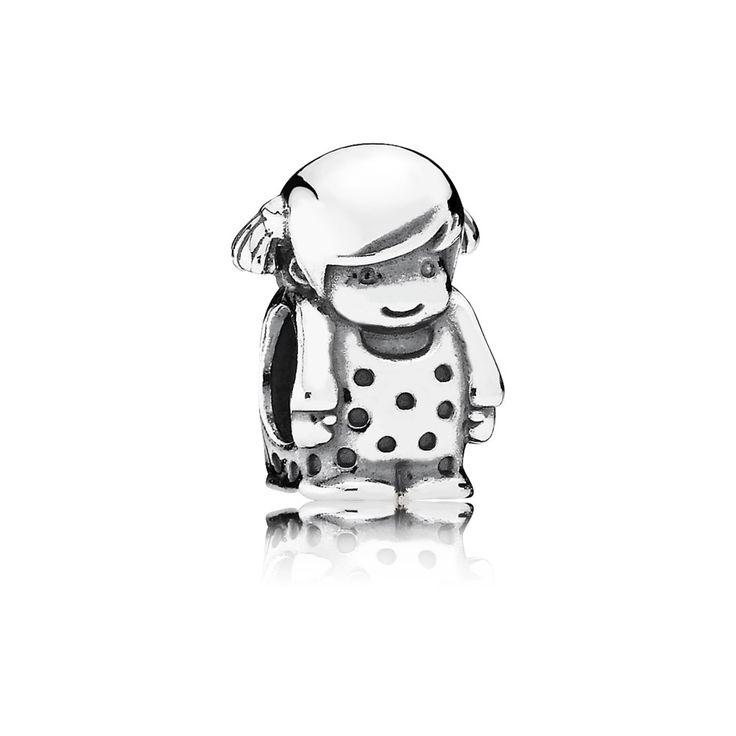Pandora Baby Charm Girl UK sale