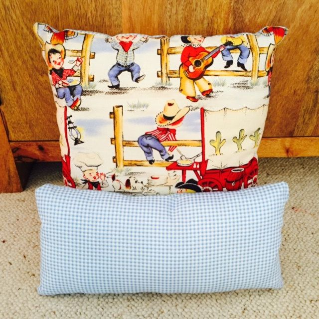 Decorative Bedroom Cushions : Childrens Cushions, Scatter Cushions, Cowboys, Kids Scatter Cushions, Decorative Pillows, Kids ...