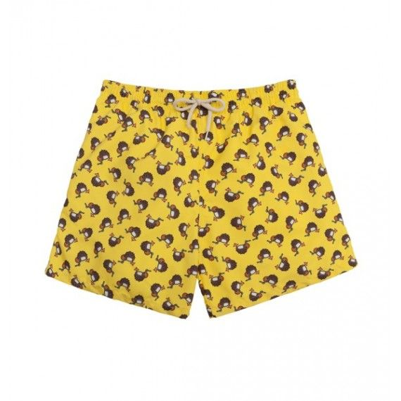 yellow coconuts men swim short / bañador hombre amarillo con cocos €39.95