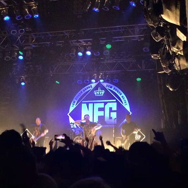 Yellowcard, New Found Glory & Tigers Jaw performed on Wednesday at House of Blues Anaheim