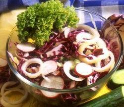 Vörös saláta
