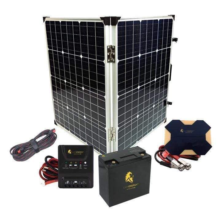 Lion Energy 400 Watt Beginner Solar Panel Kit Includes Lithium Solar Power Battery In 2020 Solar Power Kits Solar Power Diy Solar Panel Kits
