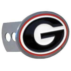 Georgia Bulldogs College Trailer Hitch Cover by Siskiyou. Save 44 Off!. $17.84. Go Half Time Georgia Bulldogs College Trailer Hitch Cover is hand painted with 3-D carved logo. Includes hardware and fits class II and class III hitches. This cover is enameled on durable, rust-proof zinc.