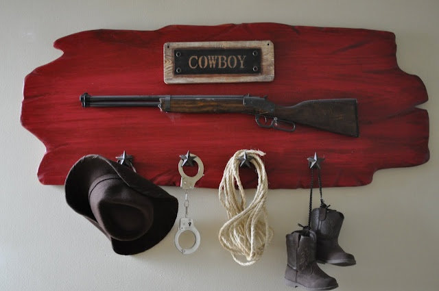 For CJs future cowboy room